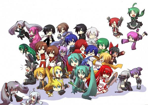 Tags: Anime, UTAU, VOCALOID, KIKAITO, MEIKO (VOCALOID), Hatsune Mikuo, Kagene Rei, Hatsune Miku, Akita Neru, Taito, KAITO, MEITO, Hatsune Zumi