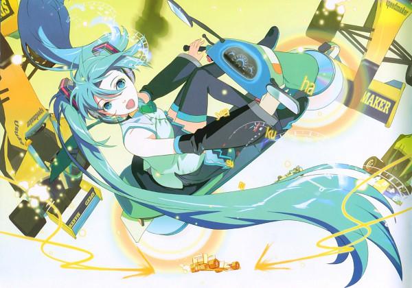 Tags: Anime, 1ten, V-edition, VOCALOID, Hatsune Miku, Scan
