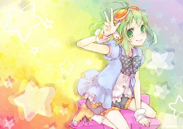 Tags: Anime, Ameiro (Pixiv8601), VOCALOID, GUMI