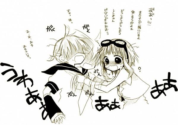 Tags: Anime, An (Pixiv1170947), VOCALOID, GUMI, Kagamine Len