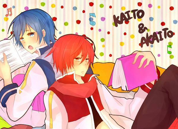 Tags: Anime, Sorahane (Artist), VOCALOID, KAITO, AKAITO, Pixiv