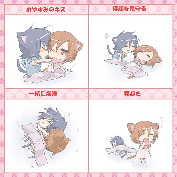 Tags: Anime, We53, VOCALOID, MEIKO (VOCALOID), KAITO