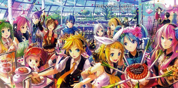 Tags: Anime, Fuji Choko, VOCALOID, KAITO, Yowane Haku, VY1, Kagamine Len, Hiyama Kiyoteru, VY2, MEIKO (VOCALOID), Nekomura Iroha, Kagamine Rin, SF-A2 miki