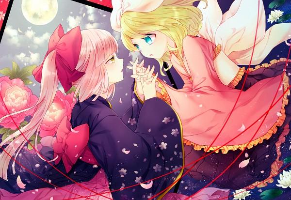 Tags: Anime, Renta, VOCALOID, Nekomura Iroha, Kagamine Rin, HD Wallpaper, Wallpaper, Fanart, Pixiv