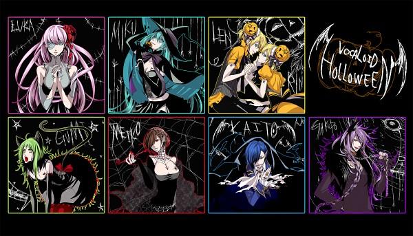 Tags: Anime, Pump, Haruma High Drop, VOCALOID, Hatsune Miku, Kagamine Len, Kamui Gakupo, Kagamine Rin, MEIKO (VOCALOID), Megurine Luka, GUMI, KAITO, Spider