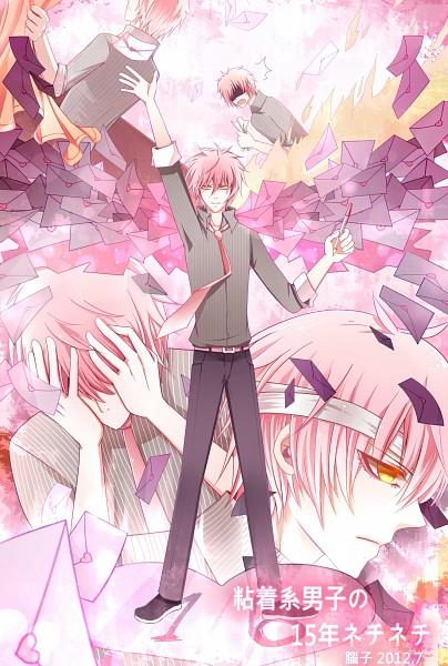 Tags: Anime, Pixiv Id 3101656, VOCALOID, VY2, Mobile Wallpaper, Nenchakukei Danshi no 15-nen Nechinechi