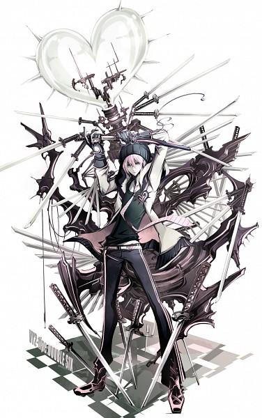 Tags: Anime, Ryuuguu Tsukasa, VOCALOID, VY2, Detailed, Futuristic Theme, Fanart, Mobile Wallpaper, Pixiv