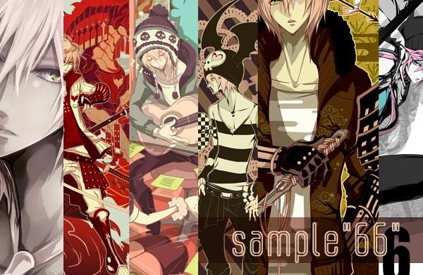 Tags: Anime, Ryuuguu Tsukasa, VOCALOID, VY2, Text: Sample, Pixiv, Fanart