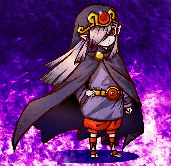 Tags: Anime, Pixiv Id 921614, Zelda no Densetsu: Fushigi no Boushi, Zelda no Densetsu, Vaati, Purple Headwear, Purple Hat, Pixiv, Fanart, Fanart From Pixiv