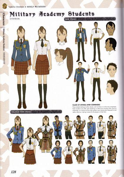 Tags: Anime, Mori Mitsue, Sega, Valkyria Chronicles 2 World Artworks, Valkyria Chronicles 2, Official Art, Scan