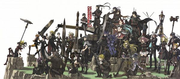 Valkyria Chronicles 3 Complete Artworks - Valkyria Chronicles 3