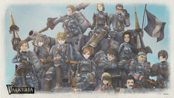 Tags: Anime, Sega, Valkyria Chronicles, Homer Peron, Edy Nelson, HD Wallpaper, Wallpaper