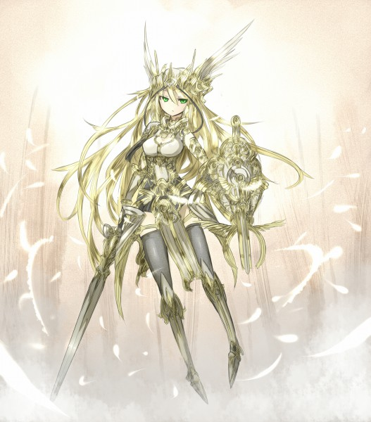Tags: Anime, Shirogane Usagi, Lord of Vermilion, Valkyrie (Lord of Vermilion), Valkyrie, Pixiv