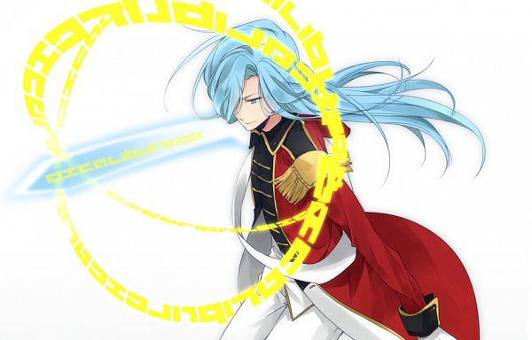Tags: Anime, Yoowa, Inazuma Eleven, Valtinas Edgar, Glowing Weapons, Pixiv, Fanart, Fanart From Pixiv, Knights of Queen