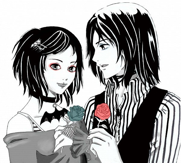 Tags: Anime, Vampire Kisses, Alexander Sterling, Raven (vampire Kisses), Spider, Gothic Outfit