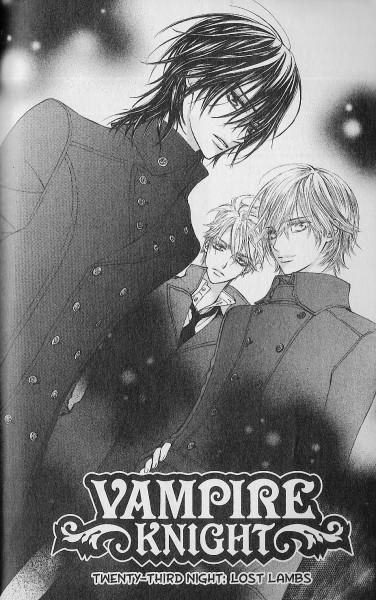 Tags: Anime, Hino Matsuri, Vampire Knight, Kain Akatsuki, Ichijou Takuma, Kuran Kaname, Mobile Wallpaper