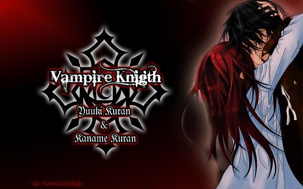 Tags: Anime, Vampire Knight, Yuki Cross, Kuran Kaname, Wallpaper
