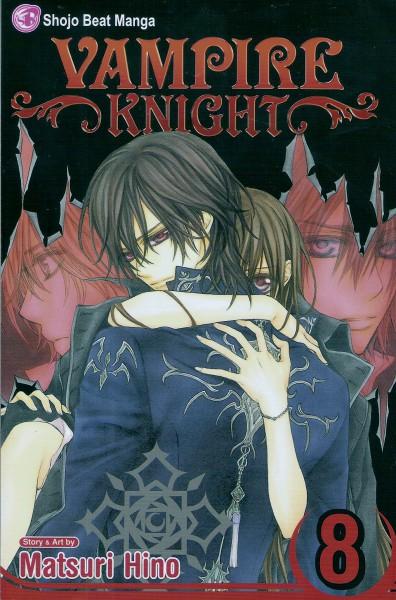 Tags: Anime, Hino Matsuri, Vampire Knight, Shiki Senri, Yuki Cross, Ichijou Takuma, Kuran Kaname, Self Scanned, Mobile Wallpaper, Manga Cover, Official Art, Scan