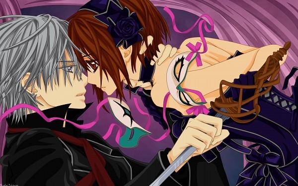 Tags: Anime, Vampire Knight, Kiryuu Zero, Yuki Cross, Vector, Fanmade Wallpaper, Wallpaper