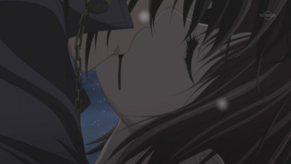 Tags: Anime, Studio DEEN, Vampire Knight, Kuran Kaname, Yuki Cross, Screenshot