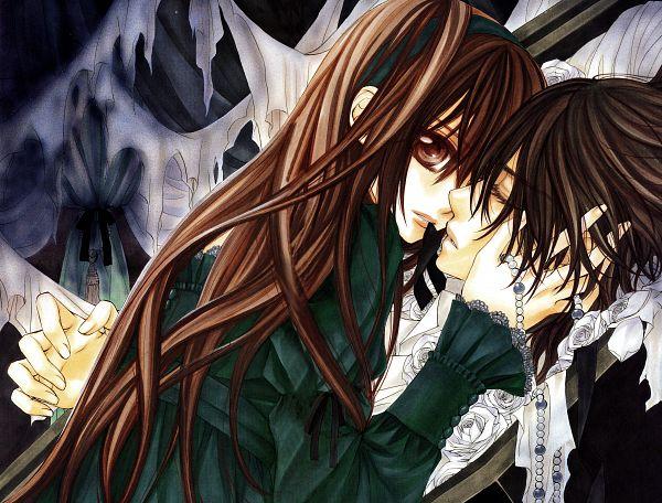 Tags: Anime, Hino Matsuri, Vampire Knight Illustrations, Vampire Knight, Official Art, Scan