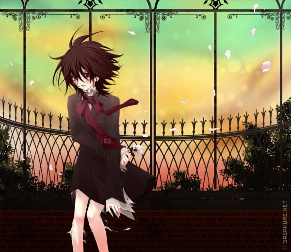 Tags: Anime, Sagakure Moe, Vampire Knight, Kuran Kaname, Yuki Cross, Fanart