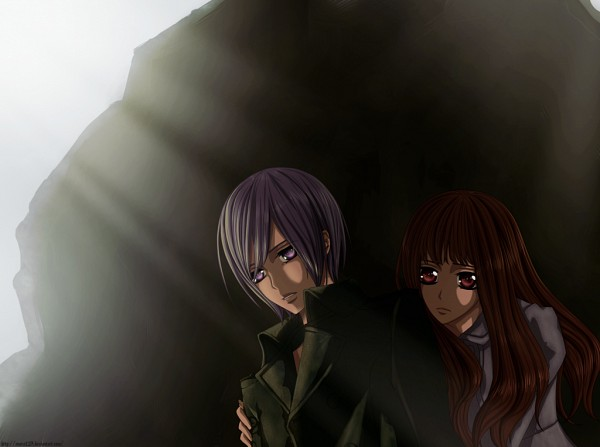 Tags: Anime, Vampire Knight, Kuran Ai, Kiryuu Ren, Artist Request