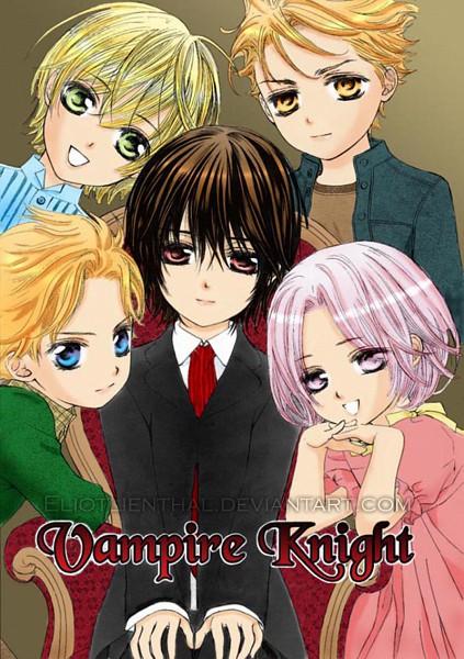 Tags: Anime, Hino Matsuri, Vampire Knight, Kuran Kaname, Kain Akatsuki, Ichijou Takuma, Souen Ruka, Aidou Hanabusa, Colorization, deviantART