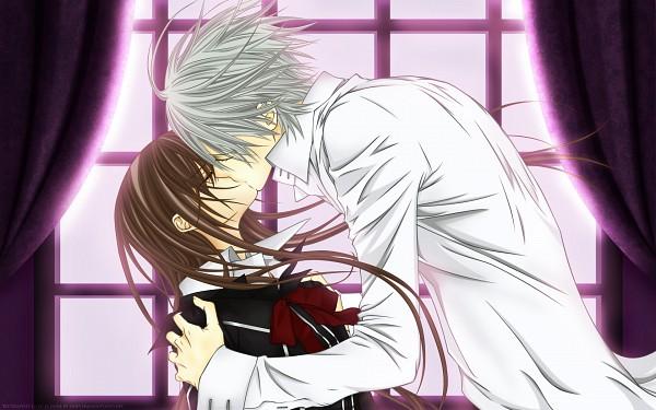 Tags: Anime, Vampire Knight, Yuki Cross, Kiryuu Zero, Wallpaper