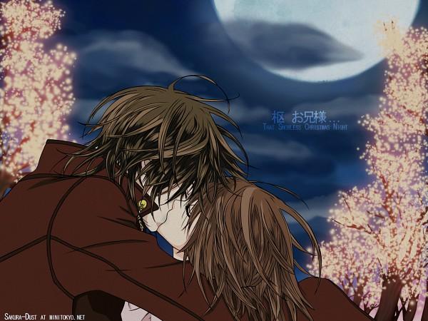 Tags: Anime, Vampire Knight, Kuran Kaname, Yuki Cross, Wallpaper