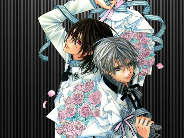 Tags: Anime, Vampire Knight, Kiryuu Zero, Kuran Kaname, Wallpaper