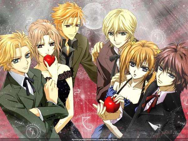 Tags: Anime, Vampire Knight, Touya Rima, Souen Ruka, Aidou Hanabusa, Shiki Senri, Kain Akatsuki, Ichijou Takuma, Wallpaper