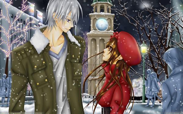 Tags: Anime, Vampire Knight, Kiryuu Zero, Yuki Cross, Wallpaper