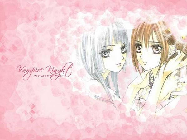 Tags: Anime, Hino Matsuri, Vampire Knight, Kurenai Maria, Yuki Cross, Wallpaper