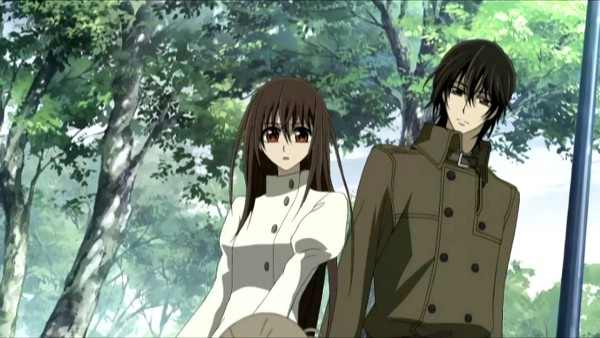 Tags: Anime, Studio DEEN, Vampire Knight, Yuki Cross, Kuran Kaname, Screenshot