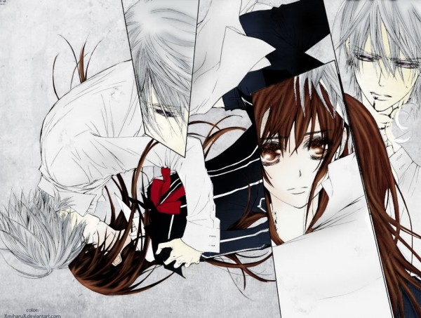 Tags: Anime, Hino Matsuri, Vampire Knight, Kiryuu Zero, Yuki Cross, Artist Request, Colorization