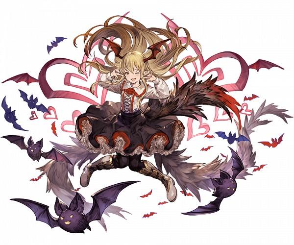 Tags: Anime, Minaba Hideo, Cygames, Granblue Fantasy, Vampy (Shingeki no Bahamut), Cover Image, PNG Conversion, Official Art, Vania (shingeki No Bahamut)