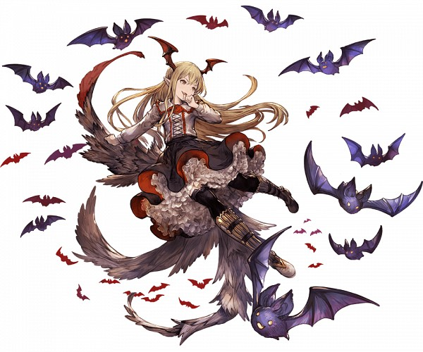 Tags: Anime, Minaba Hideo, Cygames, Granblue Fantasy, Vampy (Shingeki no Bahamut), Cover Image, Official Art, Vania (shingeki No Bahamut)