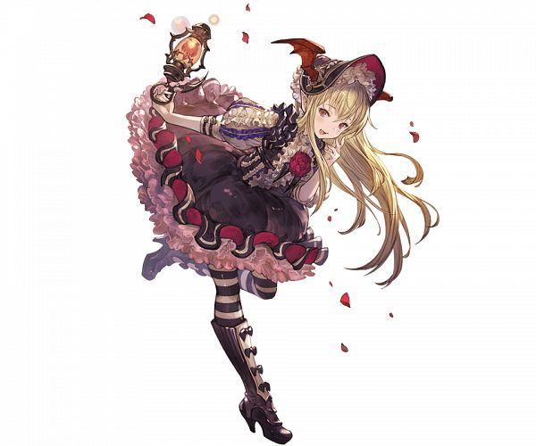 Tags: Anime, Minaba Hideo, Cygames, Granblue Fantasy, Vampy (Shingeki no Bahamut), Fancy Dressed Princess, Official Art, Vania (shingeki No Bahamut)