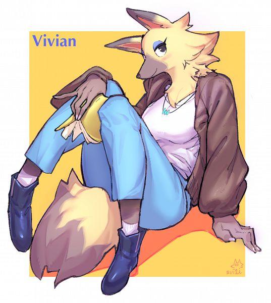 Tags: Anime, Pixiv Id 31916802, Doubutsu no Mori, Vanessa (Doubutsu No Mori), Pixiv, Fanart, Fanart From Pixiv, Vivian (doubutsu No Mori)