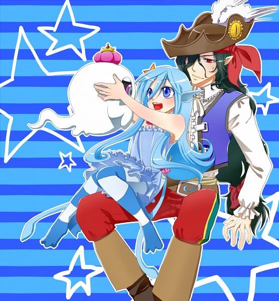 Tags: Anime, Coco Natade, Cardfight!! Vanguard, Top Idol Aqua, Rick The Ghostie, Captain Nightmist, Pixiv, Fanart, Vanguard Race: Ghost, Vanguard Unit, Granblue, Vanguard Race: Vampire, Vanguard Race: Mermaid