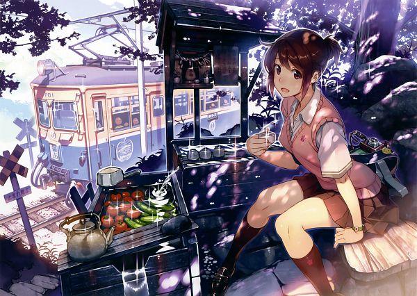 Tags: Anime, Vania600, Eshi 100-nin Ten 06, Scan, Original