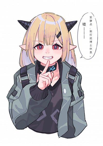 Tags: Anime, Pixiv Id 5957265, Arknights, Vanilla (Arknights)