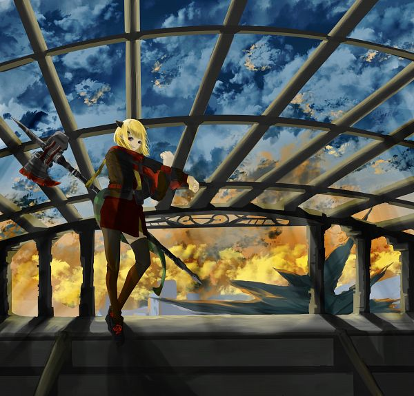 Tags: Anime, Pixiv Id 53003670, Arknights, Vanilla (Arknights), Pixiv, Arknights Battle Illustration Contest