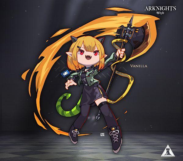 Tags: Anime, Pixiv Id 8561512, Arknights, Vanilla (Arknights)