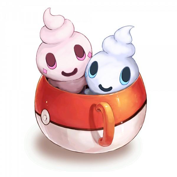 Tags: Anime, Pixiv Id 684610, Pokémon, Vanillite, Pokéball Mug, Pixiv, Shiny Pokémon, Fanart, Fanart From Pixiv