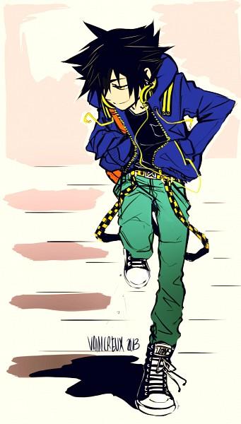 Tags: Anime, Palito-de-pan, Kingdom Hearts: Birth by Sleep, Vanitas, Mobile Wallpaper, deviantART, Fanart, Fanart From DeviantART