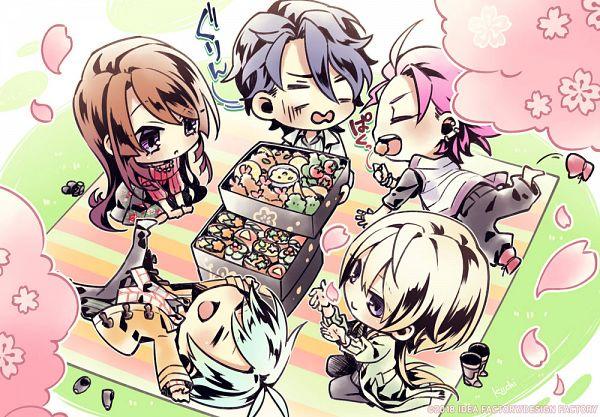 Tags: Anime, Usuba Kagerou, Otomate, DESIGN FACTORY, Variable Barricade, Yagami Nayuta, Mitsumori Ichiya, Mayuzumi Shion, Isurugi Taiga, Toujou Hibari, Official Art