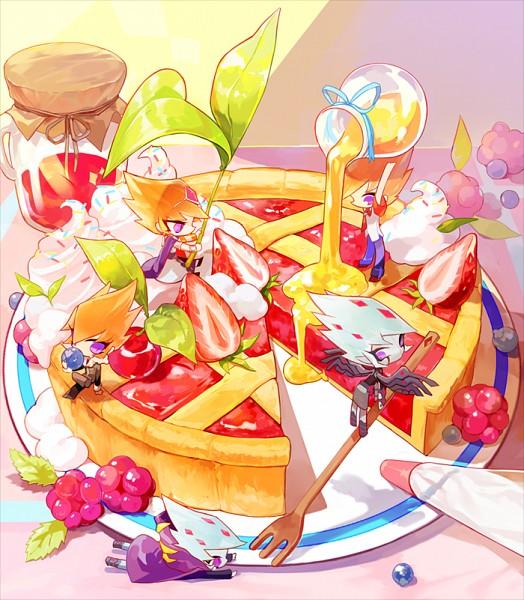 Tags: Anime, HopereiV, Yu-Gi-Oh! ZEXAL, Yu-Gi-Oh!, Vector (Yu-Gi-Oh! ZEXAL), Shingetsu Rei, Pastry Bag, Pixiv, Fanart, Fanart From Pixiv