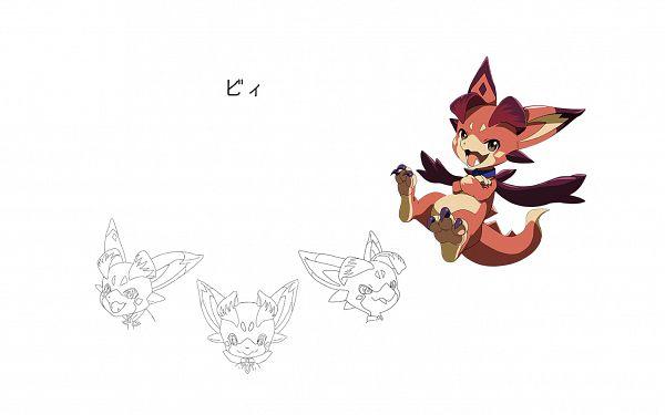 Tags: Anime, Akai Toshifumi, A-1 Pictures, Granblue Fantasy The Animation, Granblue Fantasy, Vee (Granblue Fantasy), Official Art, Wallpaper, Vyrn (granblue Fantasy)